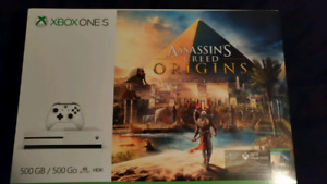Brand New Sealed Xbox One S Assassin's Creed Origins Bundle