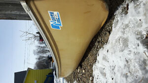 16' North Line flatback canoe good condition.