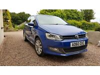2010 VOLKSWAGEN POLO 1.6 SEL TDI 3DR, UNDER VW WARRANTY, FACTORY FITTED EXTRAS.