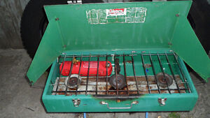 Coleman 3 Burner Gas Camp Stove $80.