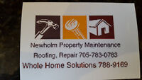 Newholm Property Maintenance, Roofing and Repair