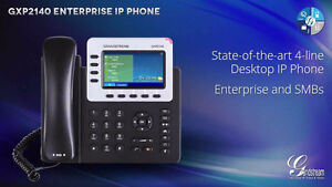 Grandstream GXP2140 Enterprise IP Telephone VoIP Phone $149.99