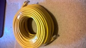 100 feet / 30 meters Ethernet cable cat 6  yellow