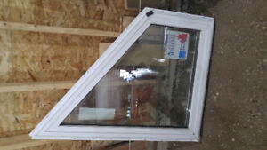 FOR SALE NEW TRIPLE PANE WINDOWS AND TONGUE AND GROOVE BOARDS