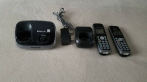 Panasonic KX-TG6511B DECT 6.0 PLUS Digital Cordless Phones