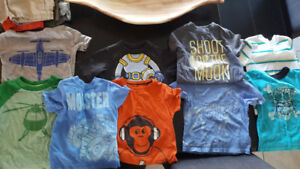 2t lot of boys summer clothes