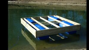Floating docks or barges DYI London Ontario image 5