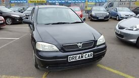 Vauxhall Astra 1.6I CLUB (black) 2003