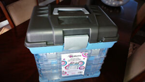 Two Large Crafting Organizer - NEW - $50