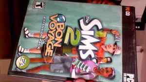sims 2 expantion packs and sims 3 games