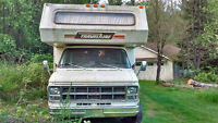 Classic Rv with New Engine