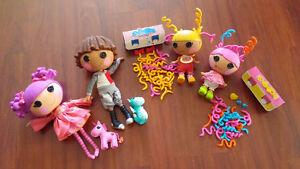 Four Lalaloopsy Dolls in EUC