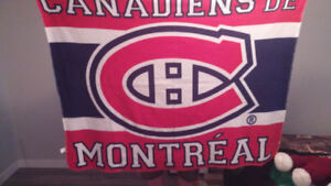 Montreal Canadians blanket