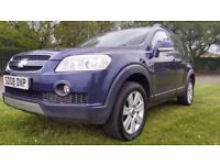 Chevrolet Captiva LTX 2.0 CDTI 7 SEAT Good / Bad Credit Car Finance (blue) 2008
