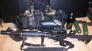 BT-4 Ironhorse paintball gun package