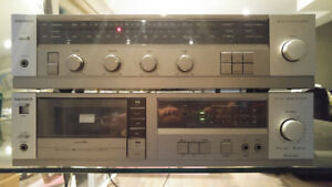 Magnavox Reciever Deck Combo great condition fully working Phono
