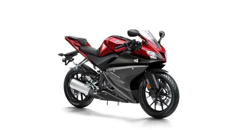 2017 YAMAHA YZF-R125 ABS RADICAL RED, ** 0%