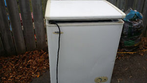 $20 OBO. Small working chest freezer.