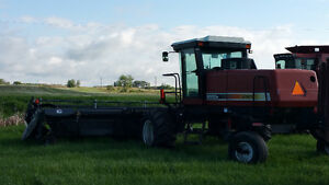 Hesston 8550s 30' Swather