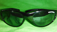 Harley Davidson sunglasses with flames on the side frames