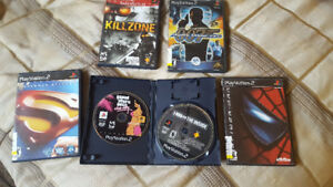 Five Xbox 360 games five PlayStation 2 games