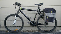 CCM NITRO XT 26-IN MOUNTAIN BIKE with rear rack and bags