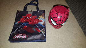Spiderman Re-usable Bag and Trick or Treat Bucket