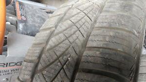 Pair of 195 55 16 hankook optimo 4s tires on 4x114.3 rims Regina Regina Area image 3