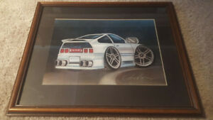 Custom Sketch Honda CRX
