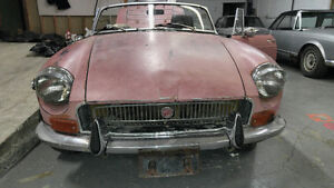 1970 MGB Roaster - easy restoration project