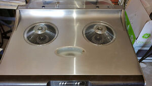"CROWN KITCHEN RANGE HOOD 30"" AUTO CLEANS LIKE NEW"