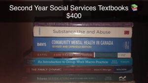Second year social service textbooks
