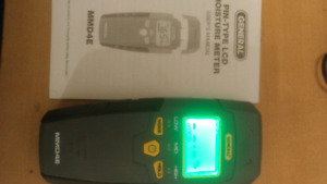 Wood moisture meter lcd for fireplace woodstove construction