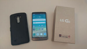 LG G3 32GB CELL PHONE UNLOCKED FOR SALE
