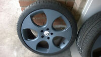 VW Detroit Rep Wheels & Tires 19x8 5x112
