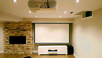 Professional TV Wall Mount/Projector &Home Theater Installation