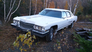 2 1973 Cadillacs one price reduced price
