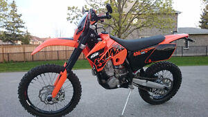 2007 KTM 400 XC-W - BLUE PLATED - Exceptionally Clean