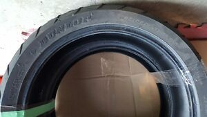 Dunlop Sportmax Front & Rear motorcycle tires  very good threads