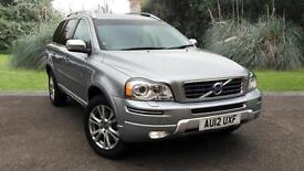 Volvo XC90 SE LUX D5 DIESEL AUTOMATIC 7 SEATS SILVER