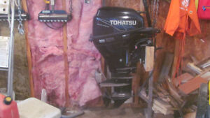 Outboard Motor to trade for motor cycle