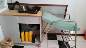 Hair Washing Sink and Chair