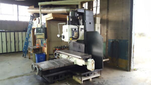 Large Manual Bed Milling Machine (15,600 Lbs)