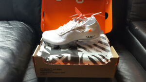Off white vapormax size 9.5
