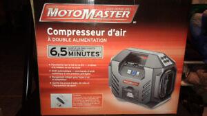 Compresseur d'air / Pompe électrique double Motomaster