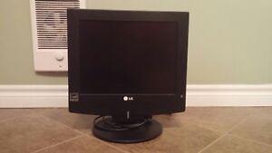LG 15 inch TV/Computer Monitor