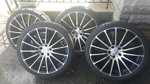 """20"""" Rims with Tires for BMW"""