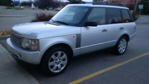 2005 Landrover Range Rover 4.4 litre loaded leather