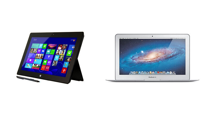 Surface Pro vs. MacBook Air