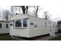 3 bedroom static caravan for hire at Craig Tara in Ayr.
